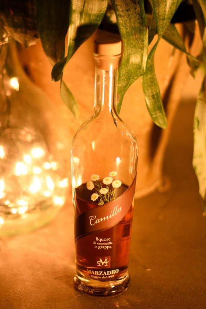 Camilla - Liquore di camomilla in grappa
